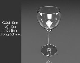 Cách làm vật liệu gương (kính, thuỷ tinh) trong 3dmax