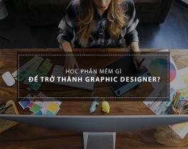 Để trở thành nhà thiết kế đồ họa 2D nên học phần mềm gì?