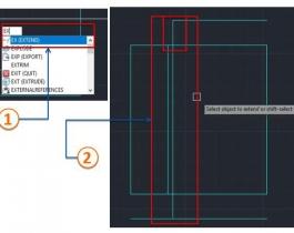 Các lệnh cơ bản trong Autocad 2D - Nhóm lệnh Modify