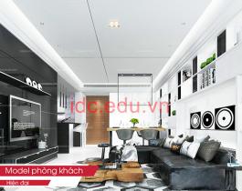 Thư Viện 3D Max 20 Model Phòng Khách Free Download