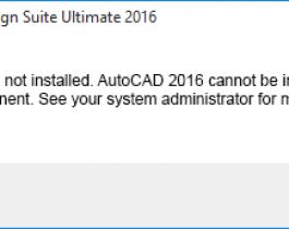 Khắc phục lỗi .Net Framework 4.5 khi cài đặt các phiên bản Autocad
