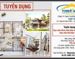 Tuyển dụng Họa viên Kiến trúc - Nội thất - Cty Thep Viet