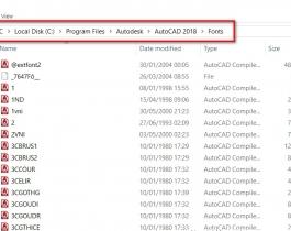 Đọc bản vẽ AutoCAD dễ dàng với 837 font SHX và 3064 font TTF