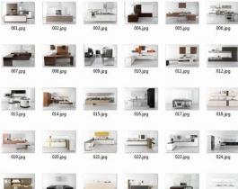 Thư viện 137 mẫu model nội thất nhà bếp sketchup miễn phí