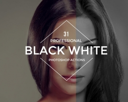 Share Full Bộ Action Black and White Cho Photoshop