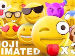 Bộ Emoji 3D Animated cho After Effects