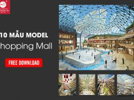 Thư viện 3d Max Model Shopping Mall