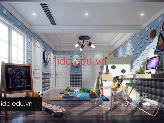 Thư viện 3d Max Model phòng ngủ cho trẻ em