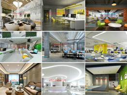 Free Download Bộ Thư Viện 20 Văn Phòng 3Dmax