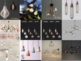 Free Download thư viện Sketchup Model light (đèn)