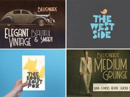 Free download - Theo đuổi trào lưu thiết kế cổ điển với font retro vintage
