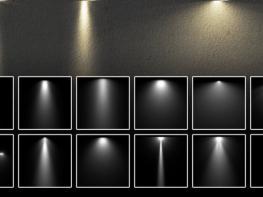 Bộ Brush ánh sáng và các loại đèn chiếu dùng trong Photoshop