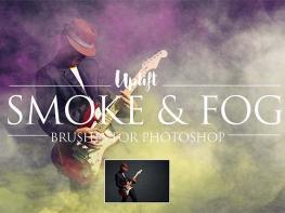 Tặng Bạn Bộ thư viện 15 Smoke Và Fog Brushes Cho Photoshop