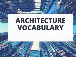 Chia sẻ 2 bộ từ điển từ vựng tiếng anh chuyên ngành kiến trúc xây dựng
