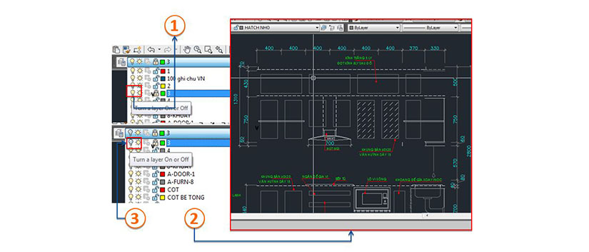 Cach tao layer trong autocad 19