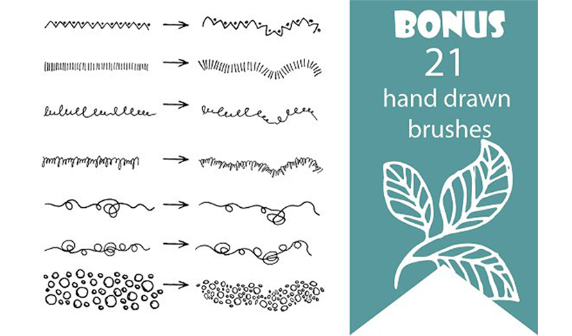 bo hand draw vector elements 1