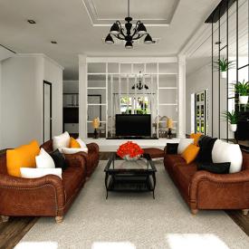 Cấu tạo và thiết kế, khai triển bản vẽ kiến trúc nội thất