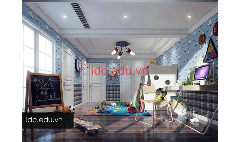 Thư viện 3d Max Model phòng ngủ cho trẻ em - Các mẹo hay